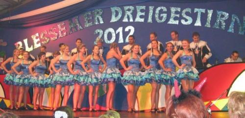 Proklamation Blessemer Dreigestirn 2011/2012